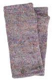 Fleece lined - Wristwarmers - heather mix -  pale