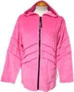 Velvet Pixie Hood Jacket Pink