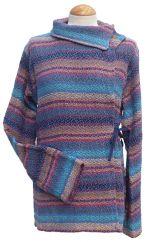 Cholo Shawl Neck Jacket Bright Blue