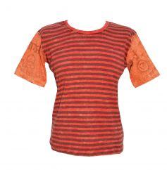 ***SALE*** Mantra Sleeve T-Shirt Red/orange