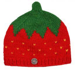 Children's Half fleece lined strawberry red!